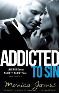Addicted To Sin by Monica James-newcover